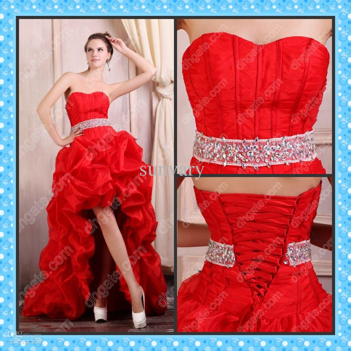 High Low Prom Dresses 2013