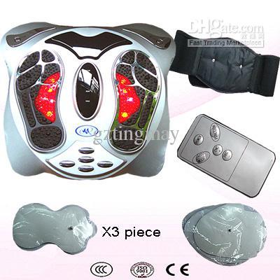El massager infrarrojo del pie mejora la máquina del uso del hogar del cuidado médico de la salud del pie de la circulación de sangre