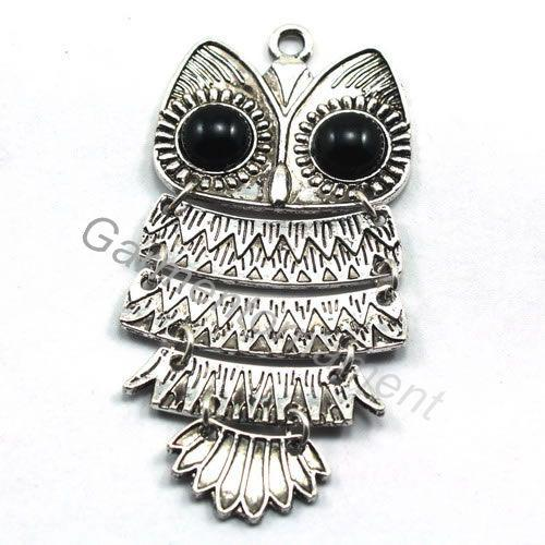 Antique silver metal owl pendant for necklace charms scarf pendants antique silver metal owl pendant for necklace charms scarf pendants diy jewelry online with 5372piece on mengmeiornamentss store dhgate aloadofball Image collections