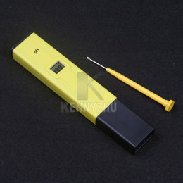 Wholesale Pen Laboratory - New Digital PH Meter Water Acid Tester LCD Pocket Pen 0.0-14.0 For Aquarium Pool Laboratory