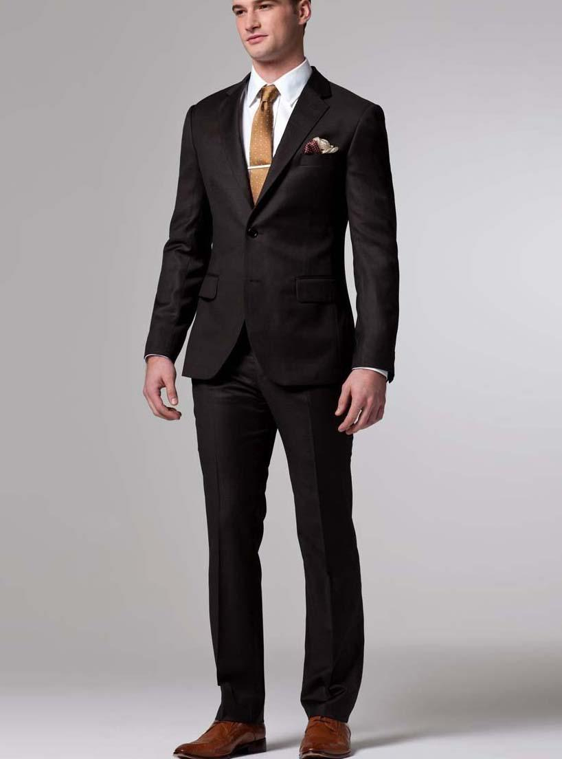 Brown Suits For Wedding - Ocodea.com