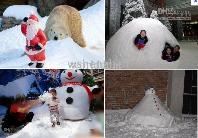 Diy Artificial Instant Snow Powder Simulation Indoor Outdoor Christmas Decoration Accessories At Home From