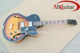 Wholesale Electric Guitars L5 - custom L5 jazz Hollow Vintage Sunburst electric guitar China Guitar HOT SALE