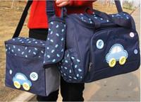 Wholesale Messenger Diaper Bag Wholesale - Waterproof Diaper Bag car design Stroller Bag Mammy Bag Nappy Bag Include Bottle Bags Messenger bag
