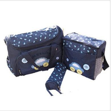 Saco De Armazenamento De Fraldas à prova d 'água de design do carro Saco de Carrinho De Criança / Mammy Bag / Saco de Fralda Incluem Sacos de Garrafa saco Do Mensageiro