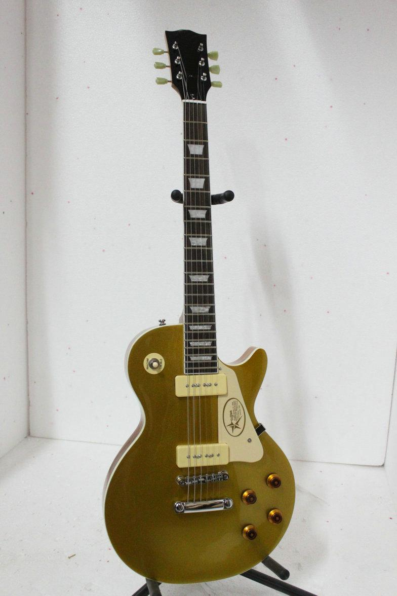 Custom Shop 1956 top de ouro VOS Guitarra Elétrica Frete Grátis A789