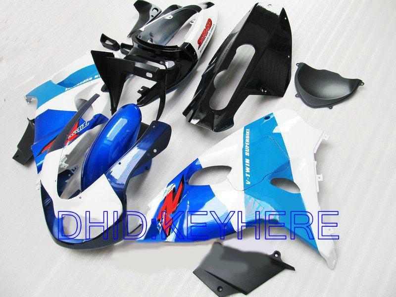 BLUE / BLACK ABS moto racing Carenado para SUZUKI TL1000R 1998-2003 TL1000R 1998 1999 2003 carenados