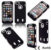 Wholesale Robot Case 5g - On Sale Robot Silicone Hard Case Back Smart Cover Cases Shell For iPhone5 iPhone 5 5G 5S Via DHL