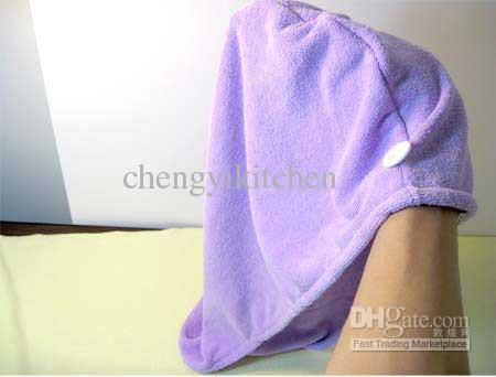 30 adetgrup 40g YENI Mikrofiber Havlu Mikrofiber Saç Kurutma Kap Türban Saç Havlu 140001