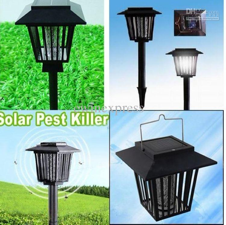 48x New Outdoor Solar Mosquito Insect Repellent Killer