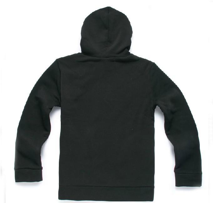 2012 Nieuwe Herfst en Winter Heren Gepaste Koreaanse Tide Slant ZIP Fleece verdikte hooded trui