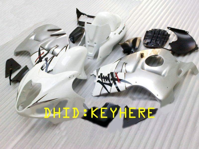 NS02 Black west ABS Racing KIT de carénage pour SUZUKI 1996-2007 GSX-R1300 GSX R1300 96 07 hayabusa