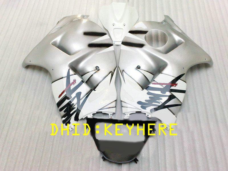 NS02 검은 서쪽 ABS 모토 레이싱 SUZUKI 용 페어링 KIT 1996-2007 GSX-R1300 GSX R1300 96 07 하야부사