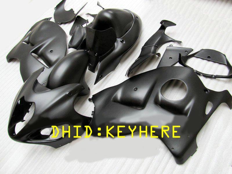 NS03 mattschwarz ABS Moto Racing Verkleidungssatz für SUZUKI 1996-2007 GSX-R1300 GSX R1300 96 07 hayabusa