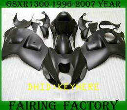 Wholesale black hayabusa fairing kit - NS03 matt black ABS moto racing Fairing KIT for SUZUKI 1996-2007 GSX-R1300 GSX R1300 96 07 hayabusa