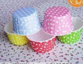 MIX COLORS redondo Estuches de muffin de papel, tazas de pastel, estuches de magdalenas, taza para hornear, envoltorios de cupcake