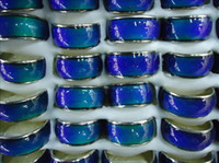 Wholesale ring width size for sale - Group buy MOOD Rings mood ring changes color to the temperature of your blood mm in width mix size