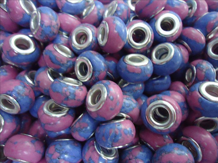 Mode losse steen kralen 200 stks gemengde turquoise kralen fit bedelarmband