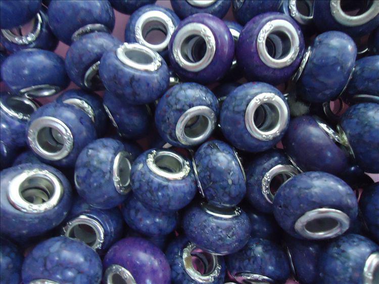 Forme las gotas de piedra flojas 200pcs Mezclan los granos de la turquesa en forma pulsera del encanto