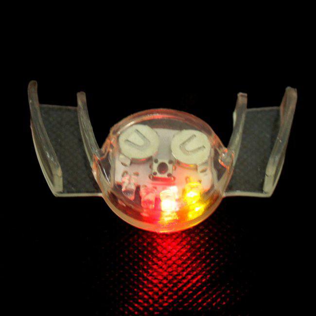 パーティーのおもちゃLEDの口の点滅灯の口ガードマウスピースのおもしろファッションのおもちゃ10pcsロット