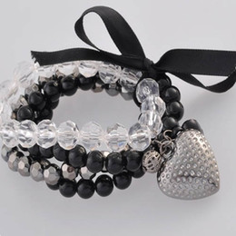 Wholesale Factory Express - Stretch beaded bracelet Bracelets Bangles fashion jewelry factory price free Express