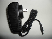 Wholesale Adapter Uk 2a 12v - NEW 12V 2A AC DC 24W Power Supply for 3528 led strip AC 100-240V US EU AU UK Adapter plug