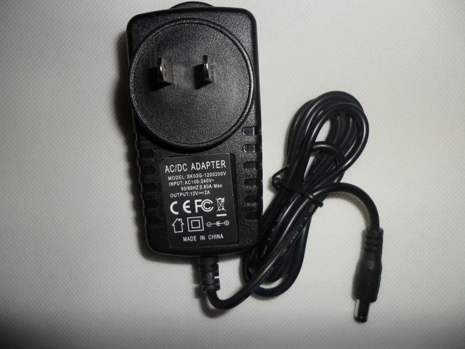 NOVA 12 V 2A AC / DC fonte de Alimentação de 24 W para 3528 tira conduzida AC 100-240 V EUA DA UE REINO UNIDO AU Plug Adapter