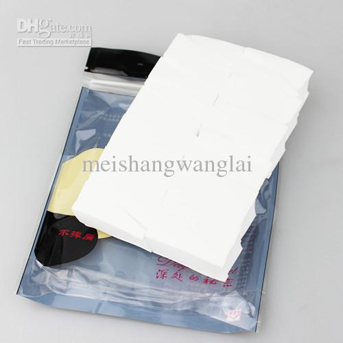 20 uppsättningar / parti 24 triangel latexfri songe puff makeup pulver puff ve hydrofil polyuretan puff