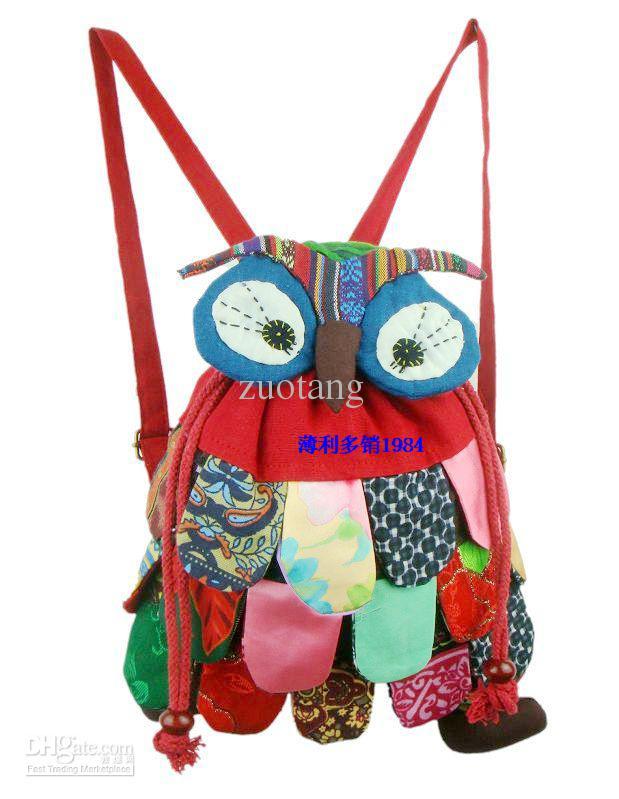 귀여운 소녀 소년 작은 동물 올빼미 배낭 키즈면 높은 품질의 아동 가방 / 많은