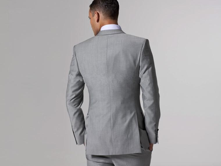 Bruidegom smoking beste man pak bruiloft groomsman / mannen pakken bruidegom jas + broek + tie + vest A001