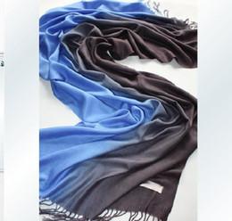 Womens Scarves Red Australia - Pashmina feeling Silk Shawl Wraps Scarf Womens Neck Scarves 2-Tone 30 Colors 30pcs lot#A1002