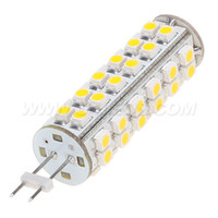 Wholesale G4 3528 - Free Shipment ! LED G4 Corn Bulb 51leds 3528 SMD Dimmable 3W 400LM White Warm White Bin-pin