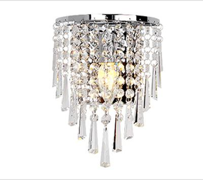 2019 85 265v Wall Lamp Crystal Chandelier Free With A 3w E14 Led