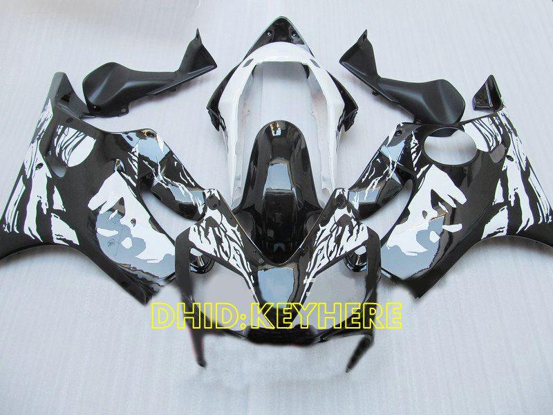 In sale !!! Beautiful face custom paint black fairing for Honda 2004 2005 2006 2007 CBR600 F4i cbr 600 CBRF4i 04 05 06 07 fairings