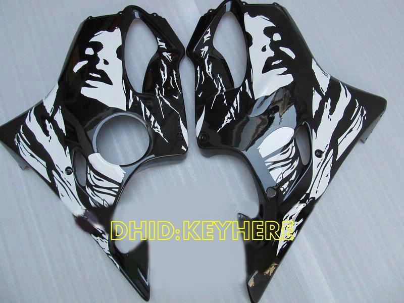 À venda !!! Cara bonita pintura personalizada carenagem preta para Honda 2004 2005 2006 2007 CBR600 F4i cbr 600 CBRF4i 04 05 06 07 carenagens