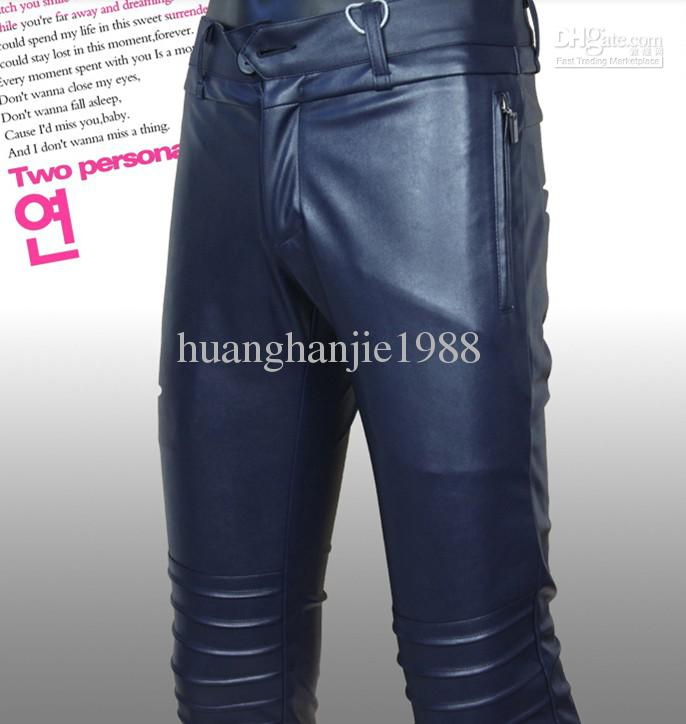 variety design good texture discount sale 2019 2019 New Men'S Brand Fashion PU Leather Pants Personality Tides  Motorcycle Men Trousers Pencil Pants / 28 35 From Huanghanjie1988, $72.34 |  ...