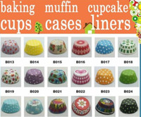 Wholesale cupcake mix for sale - Group buy 10000 MIXED styles paper baking cups cupcake liners muffin cases cake cups