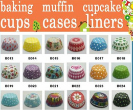 Cupcakes Mix Canada - 10000 MIXED 30 styles paper baking cups cupcake liners muffin cases cake cups