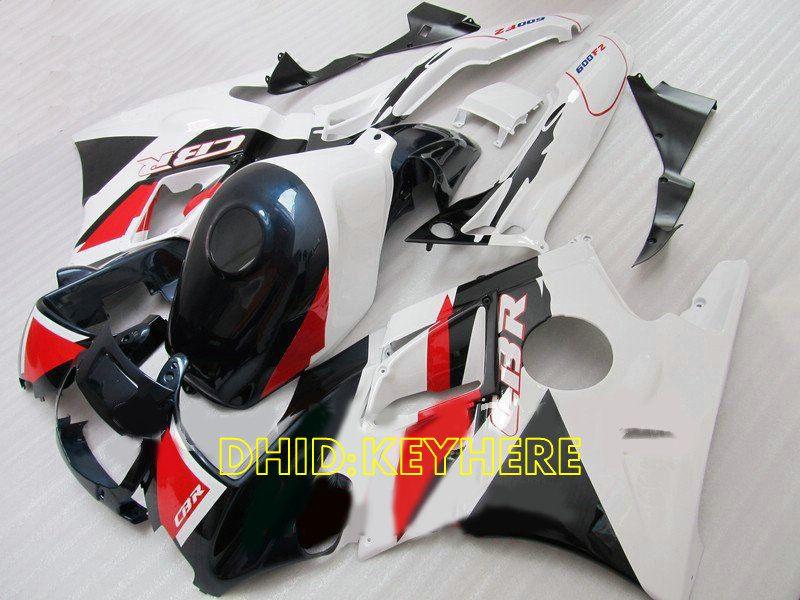 أبيض / أزرق داكن fairing لهوندا CBR600F2 91 92 93 94 CBR600 F2 1991 1992 1993 fairings