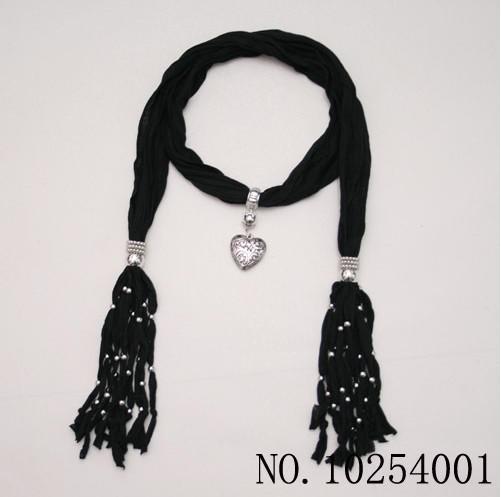 Mjukt charm hänge halsduk smycken halsdukar mode smycken halsduk 14 färger fress fartyg