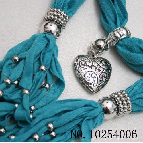 Lenço jóias pingente colar moda mulheres suaves lenços jóias mix design mix de cores grátis navio