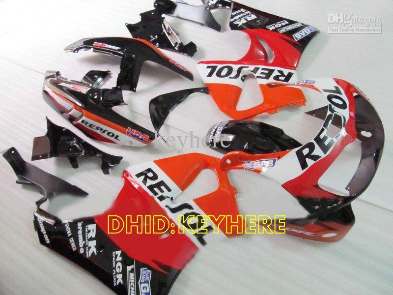 Carénage moto course repsol Orange pour Honda CBR900RR 893 1996 1997 CBR 900RR CBR893 96 97 kit de carénages