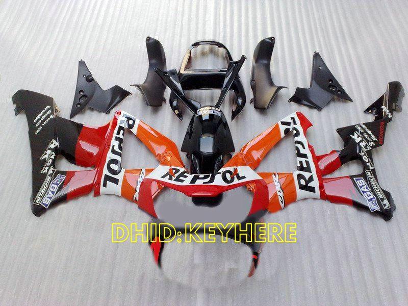 REPSOL Custom Realing voor 2000 2001 HONDA CBR900RR 929 Fireblace CBR 929RR 00 01 CBR 900RR-VALINGEN