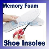 Wholesale Foam Insoles - White Comfortable and Durable Anti-Arthritis Memory Foam Shoe Insole