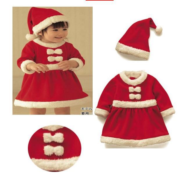 아기 크리스마스 장난 꾸러기 세트 / 어린이 크리스마스 의류 면화 소녀 산다 드레스 무도회 아기 3PCS 소송