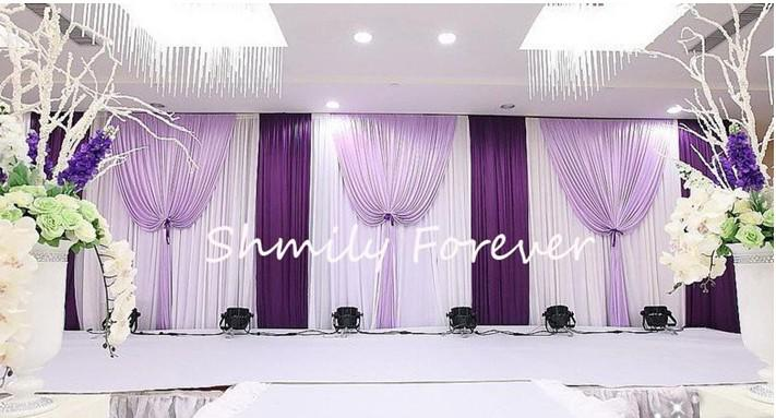 New Style Wedding Backdrop Curtain Custom Made Size/Color