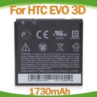 Wholesale Evo 4g Battery - 1730mAh High Quality BG86100 battery for HTC Evo 3D Sensation 4G XE Amaze 4G replacement 100Pcs Lot