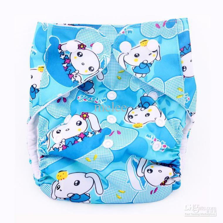 Cartoon Animal Baby Diaper Covers Cloth nappy Toddler TPU Cloth Diapers Colorful Bags Zoo