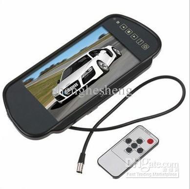 Kit rétroviseur voiture moniteur LCD 7