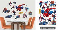 Wholesale Pixar Cars Decals - new wall stikers Boy's Bedroom 50x70cm Pixar CARS Wall Stickers Kids Nursery Room Art Decal Decor